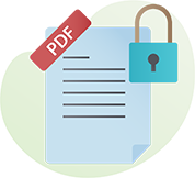 PDF Stamping and Encryption